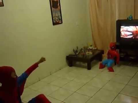 O ESPETACULAR HOMEN ARANHA DUBLE MIRIN VIDEO 2.