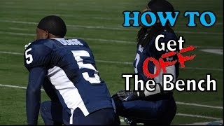 5 Tips to Become a Starter (and get OFF the bench) - Football Tip Fridays