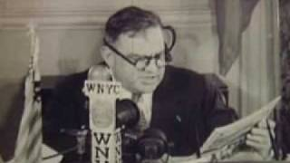 LaGuardia Reads Comics on the Radio - 1945