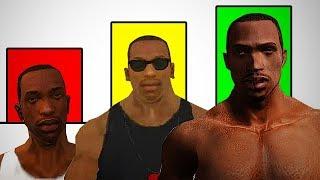 Todos Los Niveles de Poder de Carl Johnson de GTA San Andreas