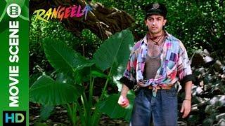 Fight over cricket on set Rangeela | Aamir Khan & Urmila Matondkar
