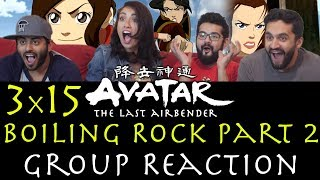 Avatar: The Last Airbender - 3x15 Boiling Rock Part 2 - Group Reaction