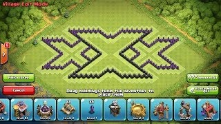 Town Hall 7 Best Base, Defence Base xXx NEW