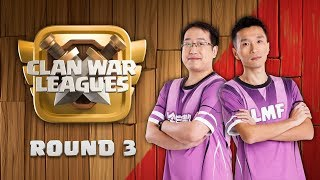 Clan War Leagues Season 3 - Round 3 - Clash of Clans War Strategy