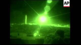 Dramatic night footage of fighting in Fallujah - 2004