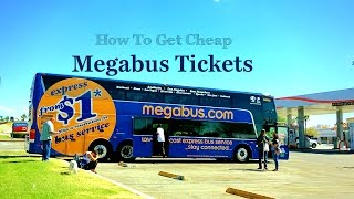 Megabus Review- How To Get Cheap Megabus Tickets