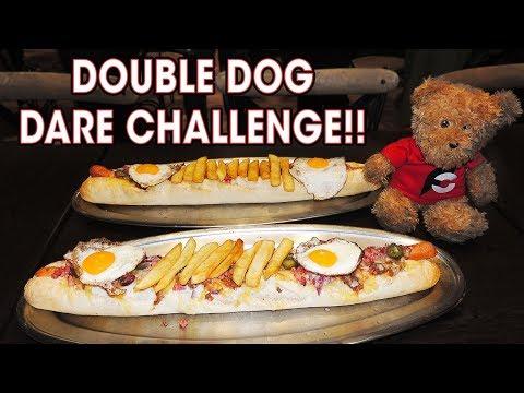 Xxx Mp4 DOUBLE DOG DARE HOT DOG CHALLENGE X2 3gp Sex