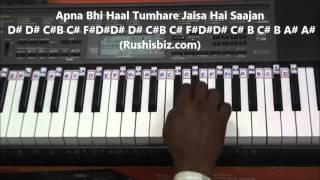 Dheere Dheere Se Meri Zindagi Piano Tutorials   Aashiqui   YouTube