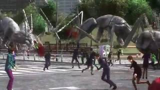 Earth Defense Force 4.1 Folge #1 Riesen Ameisen greifen die Stadt an