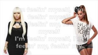 Nicki Minaj - Feeling Myself ft. Beyoncé lyrics (explicit)