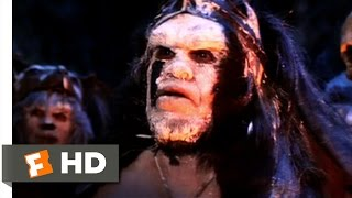 Conan the Destroyer (1984) - Tribe of Cannibals Scene (2/10) | Movieclips
