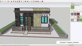 Desain Rumah Kecil Sederhana type 33