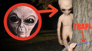 CAPTURING AN ALIEN IN REAL LIFE! *Creepy!*
