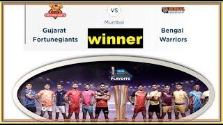 Vivo Pro Kabaddi League 2017 Final, PKL Prize Money Patna Pirates vs Gujarat Fortunegiants