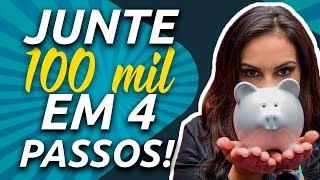 100 MIL REAIS! 4 PASSOS para juntar os PRIMEIROS 100 mil investindo - Júlia Mendonça e Nova Futura