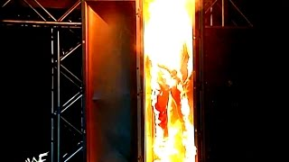 The Undertaker Sets an Effigy of Kane on Fire (03/16/98)