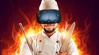 SAMURAI CHEF | Counter Fight  (HTC Vive Virtual Reality)