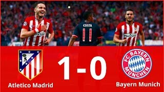 Atletico Madrid vs Bayern Munich 1-0 Highlights & Goals (Champions League) HD 2016 | 29/09/2016
