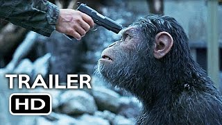 War for the Planet of the Apes Official Trailer #3 Teaser (2017) Action Movie HD
