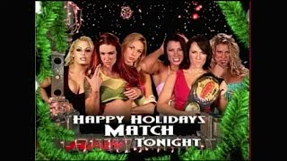 Stacy, Trish, Lita vs. Victoria, Molly, Miss Jackie - December 29, 2003