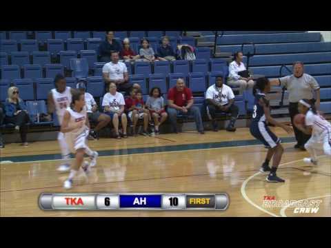 TKA Lions Girls Basketball Defeats American Heritage, 44-42