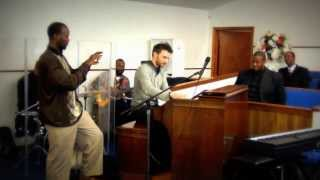 Damien Cornelis Jam at Peace Baptist Church (Memphis 2014) Gospel Organ Hammond B3 Organ