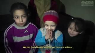 Life in Syria Mouadamiyah - 2016