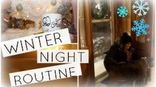 Winter Night Routine 2016 | Stephanie Carollo