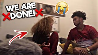 BREAKUP PRANK ON YASMEEN!! ( GONE WRONG )