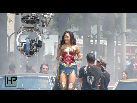 Xxx Mp4 Gal Gadot Shoots Stunt Scene For Wonder Woman 1984 3gp Sex