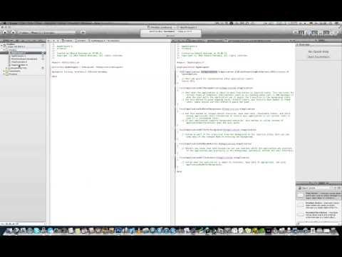 Xcode! Научись. Уроки по Xcode ios!