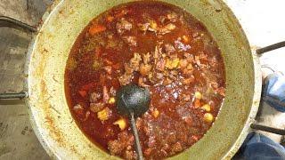 Muslim Hotel | Beef , Mutton Bhuna With Chuijhal & Garlic | Bejerdanga, Fultola, Khulna