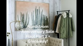 #NSALE HAUL PART 2 + (ANOTHER) GIVEAWAY! | COATS THAT I AM LOVING FROM THE SALE