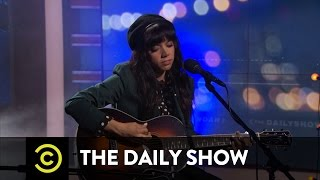 "Alynda Segarra - Hurray for the Riff Raff - ""Living in the City"": The Daily Show"