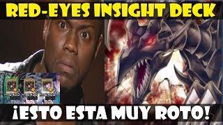 RED EYES INSIGHT DECK | ¿EL MEJOR DECK DEL META? - DUEL LINKS