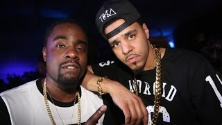 Wale Answers J Cole 'False Prophets' Song and then Kicks it with him at a Basketball Game!