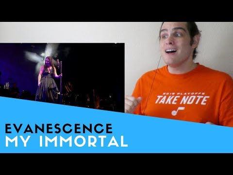 Voice Teacher Reacts to Evanescence - My Immortal (Live)
