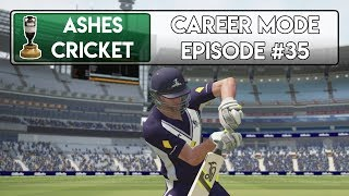 FINALLY ONE DAY DOMESTIC - Ashes Cricket Career Mode #35
