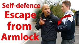 Self defence   How to escape from armlock