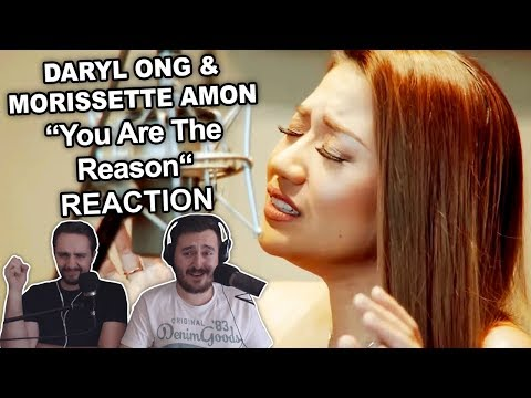 """""""Daryl Ong & Morissette Amon - You Are The Reason"""" Reaction"""