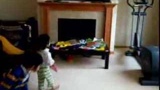 Bother and Sister Dancing