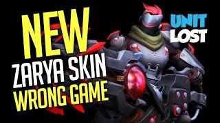 Overwatch - NEW Zarya Hanamura Skin! WRONG GAME!!!