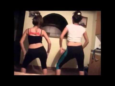 Mis primas bailando reggaeton