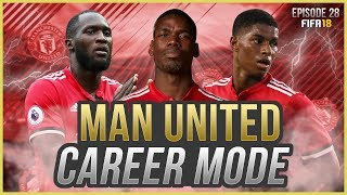 FIFA 18 Career Mode: Manchester United #28 - TRANSFER MADNESS!! Mbappe Signed!?!