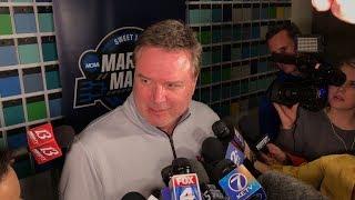 Bill Self on preparing for Clemson, KU's health