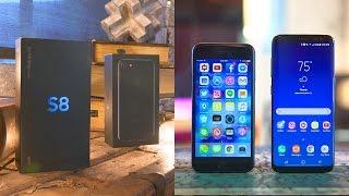 Galaxy S8 vs iPhone 7: Full Comparison!