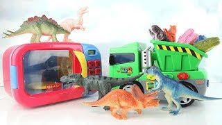 Learn Names Of Dinosaurs Just Like Home Microwave Oven Transforming Dino Toy For Kids Surprise Toys