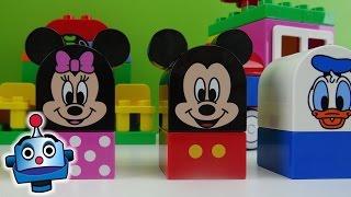 LEGO Mickey y sus Amigos Mickey and Friends - Juego de Bloques - Juguetes de Mickey Mouse
