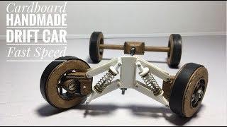 RC Handmade Drift Car Homemade Remote Control truck How to make RC drift.