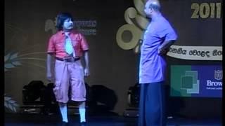 giriraj with priyantha comedy act part 02